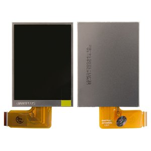 LCD for Kodak C195; Fujifilm AV230, AX230, S1600, S1700, S1800, S1900, S2500, S2950, S2980, S3200, T300, T410 Digital Cameras, (in frame, with backlight)