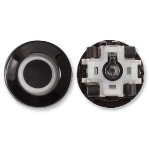 Joystick for Blackberry 8100, 8110, 8120, 8130, 8300, 8310, 8320, 8330, 8800, 8830 Cell Phones, (black, track ball)