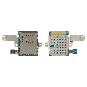 SIM Card Connector for Samsung P7500 Galaxy Tab, P7510 Galaxy Tab Tablets, (with flat cable)