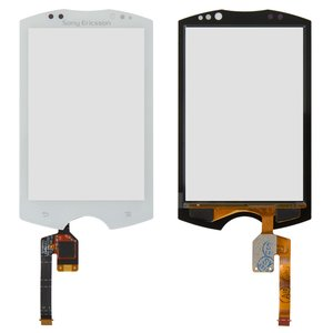 Touchscreen for Sony Ericsson WT19 Cell Phone, (white)
