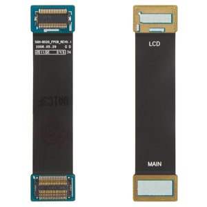 Flat Cable for Samsung B520 Cell Phone, (for mainboard, with components)