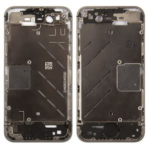Housing Middle Part for Apple iPhone 4S Cell Phone, (without components)
