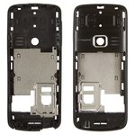 Housing Middle Part for Nokia 3110c Cell Phone, (black, without components)