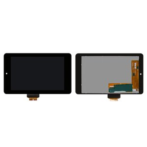 LCD for Asus Nexus 7 google Tablet, (black, with touchscreen)
