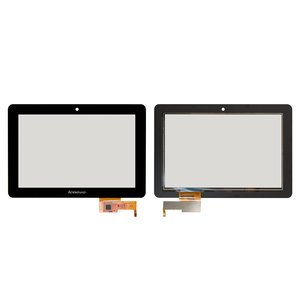 Touchscreen for Lenovo IdeaTab V2010A, LePad S2010A Tablets, (capacitive, black, (260*176 mm)) #TPC10C45 v0.3