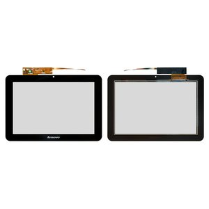 Touchscreen for Lenovo IdeaTab S2007 Tablet, (black) #TPC10C34 v0.5