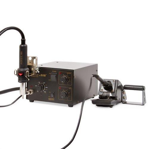 hot air soldering station aoyue 908 soldering iron hot air gun holder g. Black Bedroom Furniture Sets. Home Design Ideas