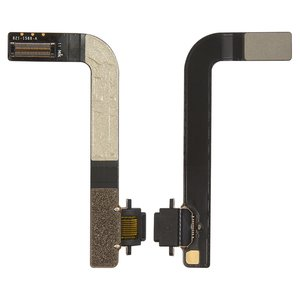 Flat Cable for Apple iPad 4 Tablet, (charging connector, with component)
