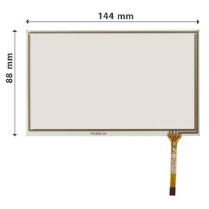 "5.8""  Flexible Touch Screen Panel"