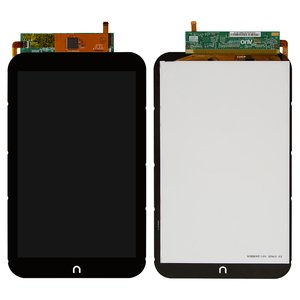 LCD for Nook HD 7 Tablet, (black, with touchscreen)