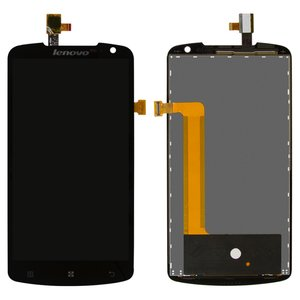 LCD for Lenovo S920 Cell Phone, (black, with touchscreen) #YT53F01W0-GR