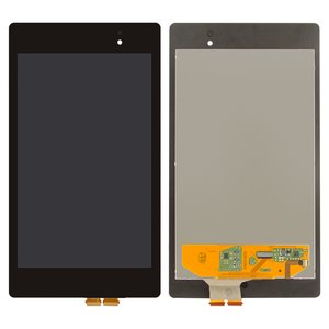 LCD for Asus MeMO Pad 7 ME572C, Nexus 7 google NEW (2Gen) Tablets, (black, with touchscreen)