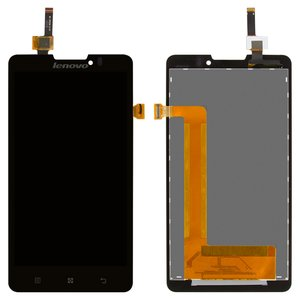 LCD for Lenovo P780 Cell Phone, (black, with touchscreen) #YT50F105C0-GR/BL50F105W0-B-F