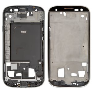 LCD Binding Frame for Samsung I9300 Galaxy S3 Cell Phone, (silver)