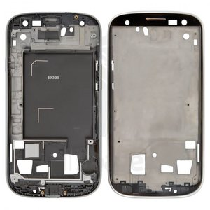 LCD Binding Frame for Samsung I9305 Galaxy S3 Cell Phone, (silver)