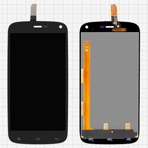 LCD for Fly IQ4410 Quad Phoenix; Gionee  E3 Cell Phones, (black, with touchscreen) #TFT5K0123FPC-A3-E/MCF-047-0914-v2.0
