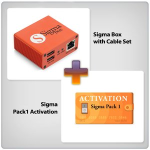 Sigma Box + Sigma Pack 1 Activation