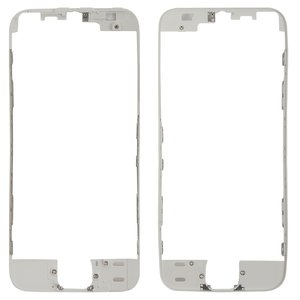 LCD Binding Frame for Apple iPhone 5S, iPhone SE Cell Phones, (white)