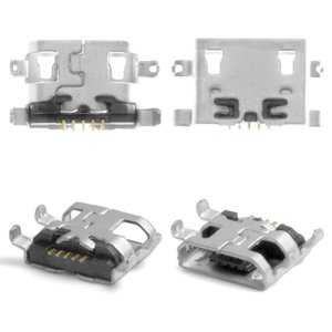 Charge Connector for Xiaomi Mi1, Mi1S; Alcatel One Touch 5020 M'Pop, One Touch 6030 Idol, One Touch 6032X Idol Alpha Slate, One Touch 7040 POP C7, One Touch 7040N Fierce 2, One Touch 7041D POP C7 Cell Phones
