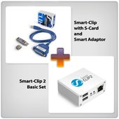 Smart - Clip 2 Basic Set and Smart-Clip with S-Card + Smart Adaptor
