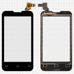 Touchscreen for Prestigio MultiPhone 4020 Duo Cell Phone, (black)
