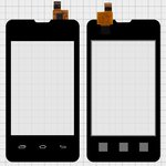 Touchscreen for Prestigio MultiPhone 3350 Duo; Explay A351 Cell Phones, (black) #CS035X-LC3A