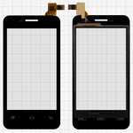 Touchscreen for China-phone U16 Cell Phone, (capacitive, black, 112 mm, (113*61mm))