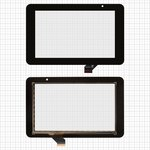 "Touchscreen for China-Tablet PC 7""; Prestigio MultiPad 7.0 HD (PMP3970B) Tablets, (black, capacitive, 30 pin, (191*118 mm), 7"") #ACE-CG7.0A-249/GKG0362A"