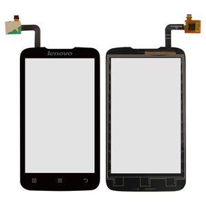 Touchscreen for Lenovo A316i Cell Phone, (black)
