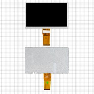 "LCD for China-Tablet PC 7"" Tablet, (65 mm flat cable, (165*100 mm), 50 pin, 7"", (1024*600)) #7300101463/E231732/EA-70889A1/7610029908/7300101462/V1-07012018A"