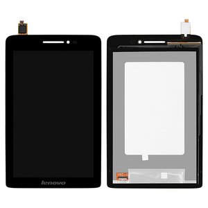 LCD for Lenovo IdeaPad S5000 Tablet, (black, with touchscreen)