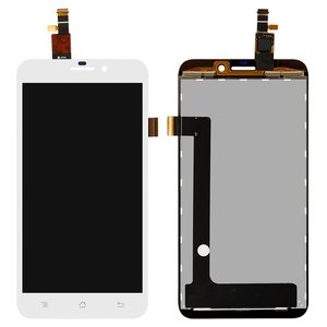 LCD for Fly IQ452 Quad Cell Phone, (white, with touchscreen) #IPS5K0111FPC-A1-E/CT4F0492FPC-A3-E