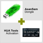 AsanSam Dongle and HUA Tools Activation