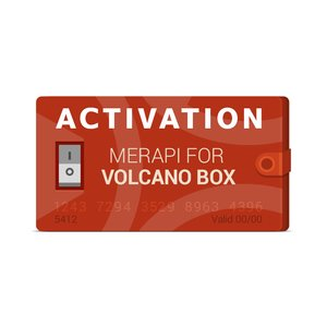 Merapi Activation for Volcano Box