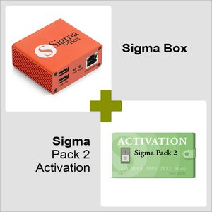 Sigma Box with Cable Set + Sigma Pack 2 Activation