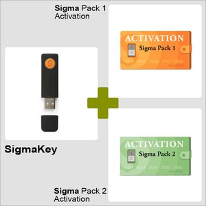 SigmaKey + Sigma Pack 1/2 Activations