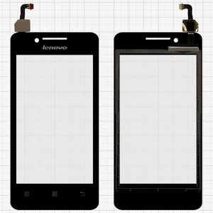 Touchscreen for Lenovo A319 Cell Phone, (black)