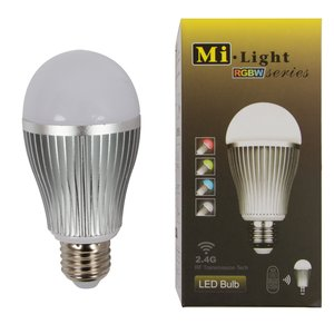 LED Light Bulb MiLight RGBW 9W E27 WW