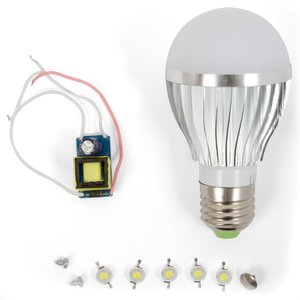 LED Lamp DIY Kit SQ-Q02 5 W (cold white, E27)