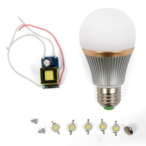LED Lamp DIY Kit SQ-Q22 5 W (cold white, E27)