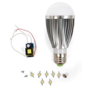LED Lamp DIY Kit SQ-Q03 7 W (cold white, E27)