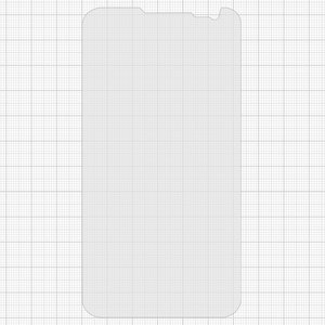 Tempered Glass Screen Protector All Spares for LG D325 Optimus L70 Dual SIM Cell Phone, (0,26 mm 9H)