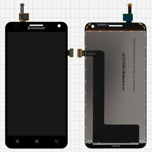 LCD for Lenovo S580 Cell Phone, (black, with touchscreen)