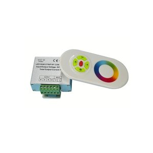 LED Controller with Touch Remote HTL-022 (RGB, 5050, 3528, 216 W)