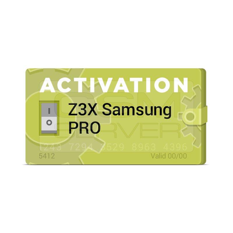 Z3x Samsung Pro Update
