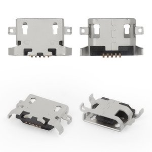 Charge Connector for Lenovo A319, A670, A830, A850, P780, S650, S820 Cell Phones;Lenovo IdeaPad S6000 Tablet