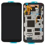 LCD for Motorola XT1092 Moto X (2nd Gen), XT1093 Moto X (2nd Gen), XT1094 Moto X (2nd Gen), XT1095 Moto X (2nd Gen), XT1096 Moto X (2nd Gen), XT1097 Moto X (2nd Gen) Cell Phones, (black, with touchscreen, with frame)