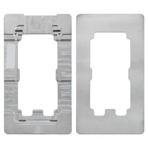 LCD Module Mould for Apple iPhone 5, iPhone 5C, iPhone 5S, iPhone SE Cell Phones, (aluminum)