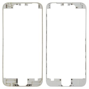 LCD Binding Frame for Apple iPhone 6 Cell Phone, (white)