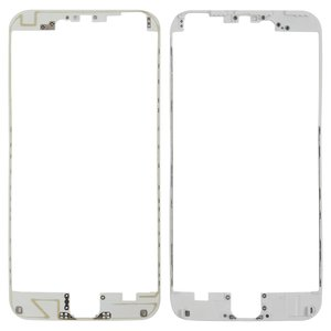 LCD Binding Frame for Apple iPhone 6 Plus Cell Phone, (white)